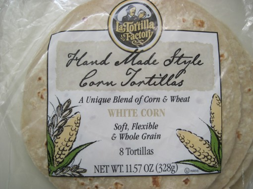 LTF white corn tortillas